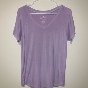 American Eagle Soft & Sexy Purple Tee